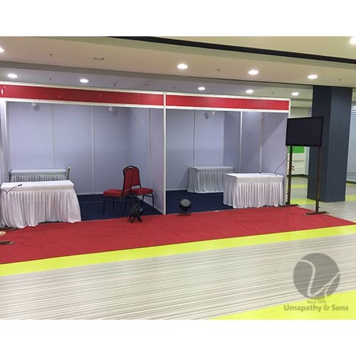 Exhibition Stall For Rent : Exhibition event trade show promotional show fairs booth promo
